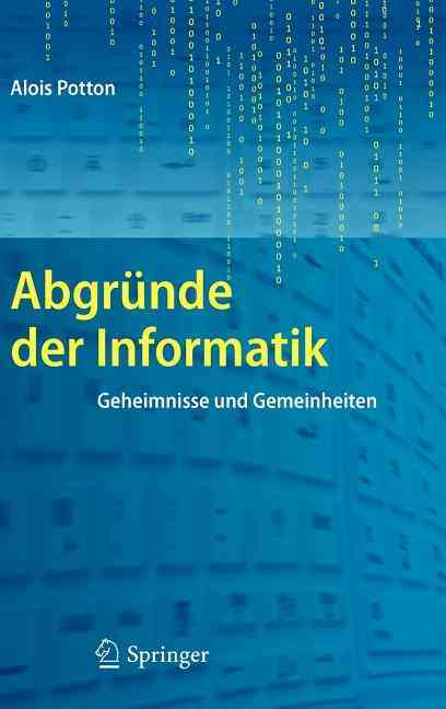 Abgrunde Der Informatik By Potton, Alois